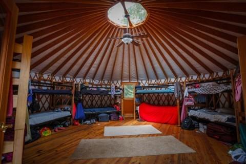 CampJorn yurt